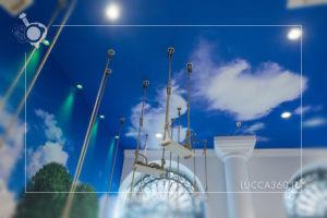 Gelatarium Lucca Altalene dettaglio cielo