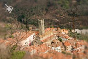 Vista sul paese dalla Rocca di Villa Basilica