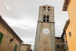 Il campanile della Chiesa di San Michele a Colognora